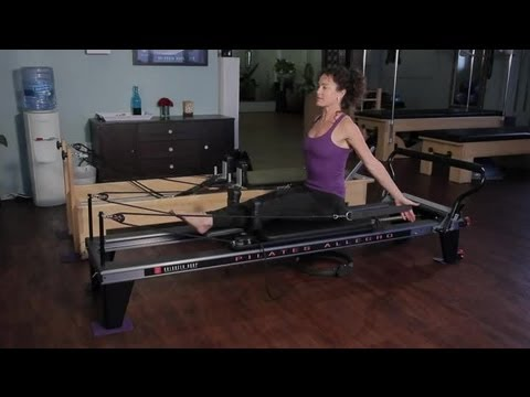 Pilates Reformer Exercises for the Waist & Bra Fat : Pilates & Stretching for Fitness