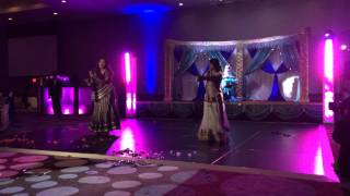 Neha & Vishal - INDIAN WEDDING RECEPTION Dance 2013