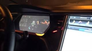 Tesla Model S (Тесла Модель С) - зимний тест-драйв от MANGO (winter test-drive).