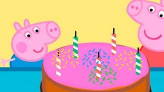 PEPPA PIG 2014 English Compilation Peppa Pig George Pig Birthday