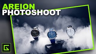 Product Photography with One Light Source: Watches & Fog