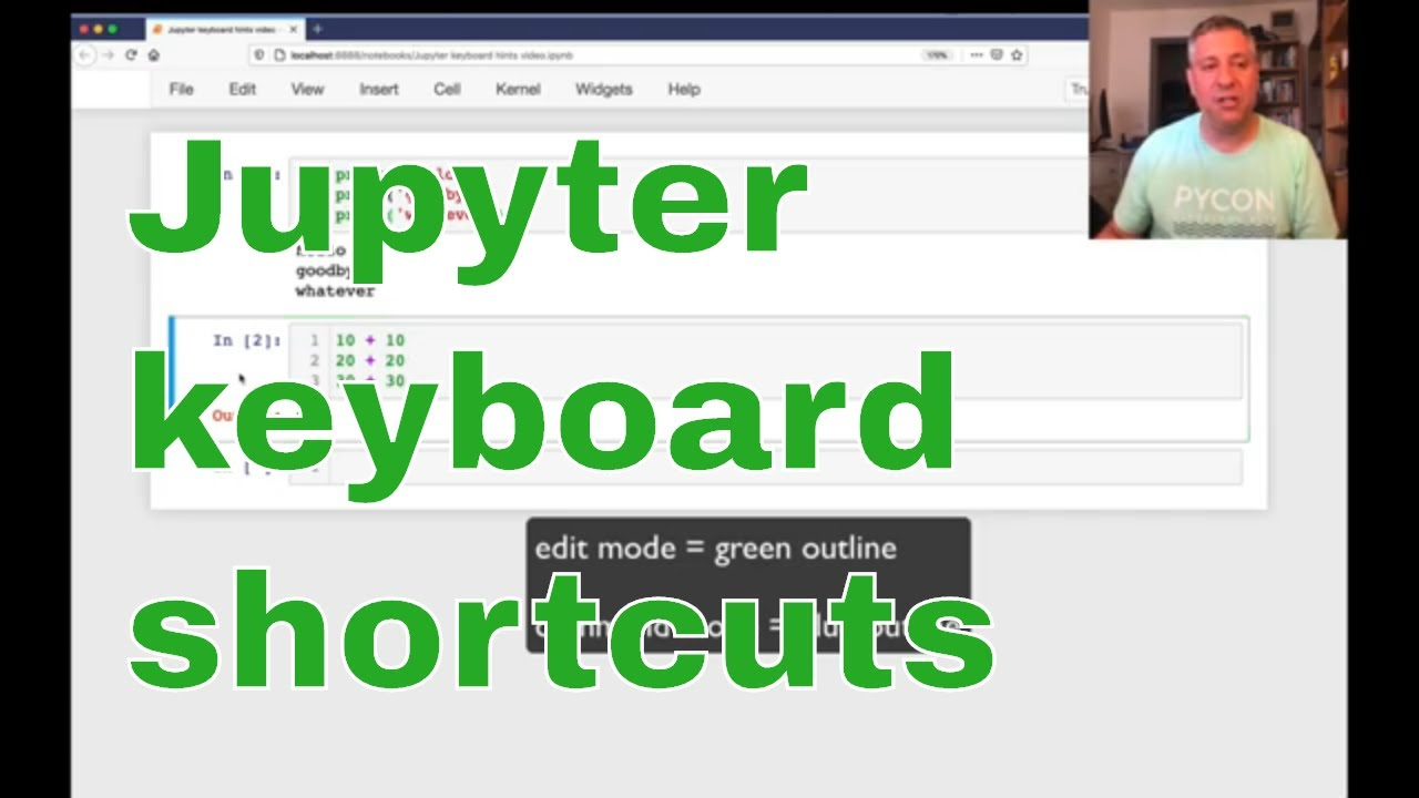 My favorite Jupyter notebook shortcuts