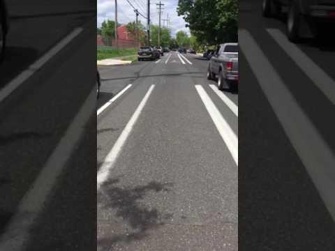 Portland's bicycle path
