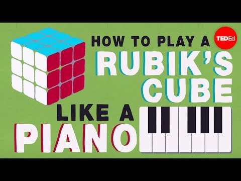 Group theory 101: How to play a Rubik's Cube like a piano  Michael Staff
