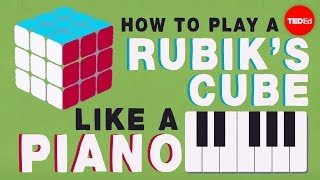 Group Theory 101: How To Play A Rubik's Cube Like A Piano - Michael Staff