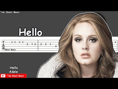 Adele - Hello Guitar Tutorial