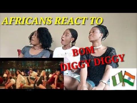 Bom Diggy Diggy (VIDEO) | Zack Knight | Jasmin Walia Reaction Video Miller Sister