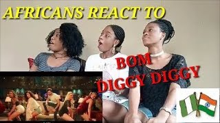 Bom Diggy Diggy (VIDEO) | Zack Knight | Jasmin Walia Reaction video Miller sister