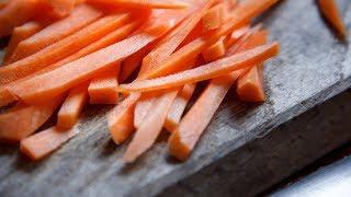 Как приготовить салат с морковью и перцем