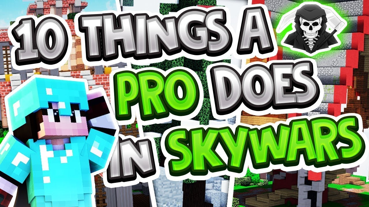 10 Things a PRO Does in Hypixel Skywars