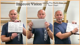 Improve Vision with the Multi-Size Font Chart