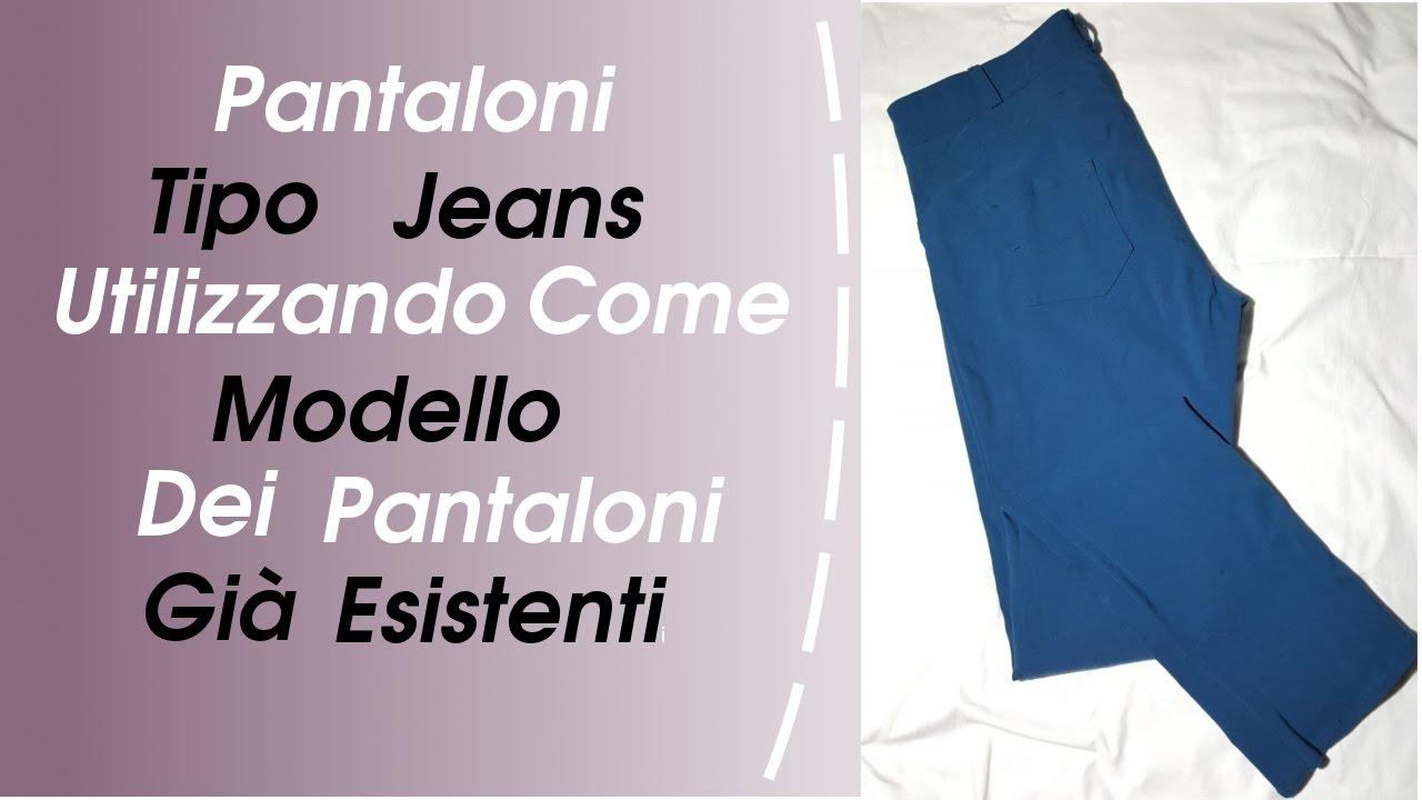 Dei Modello Jeans Tipo Utilizzando Come Cucire Pantaloni HWqXnnYp