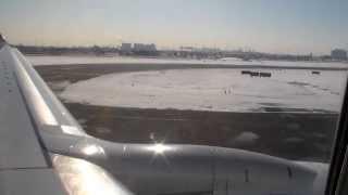 WestJet Boeing 737-700 Take Off from Toronto Pearson