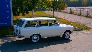Москвич 426 Э белый караван