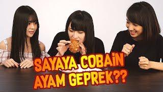Orang Jepang Makan Ayam Geprek! Bagaimana Nasib Sayaya di Indonesia?