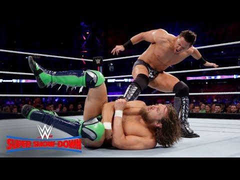 The Miz steals Daniel Bryan's Running Knee: WWE Super Show-Down 2018 (WWE Network Exclusive)