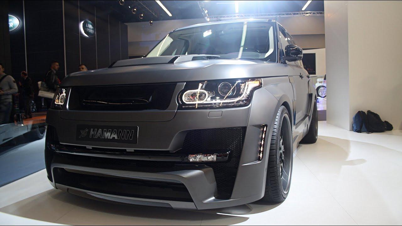 HAMANN Range Rover MYSTˆRE IAA Frankfurt 2013 1080p Full HD