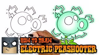 How to Draw Electric Peashooter| Plants vs Zombies (Art Tutorial)