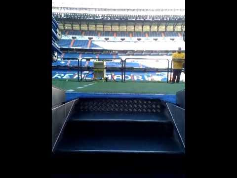 Túnel del vestuario del Real Madrid. - YouTube
