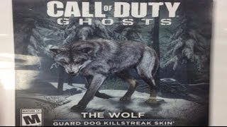 "Call of Duty: Ghosts - THE WOLF ""GUARD DOG SKIN"" (COD GHOSTS New DLC Content)"