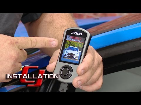 Focus RS COBB Accessport V3 2016-2018 Installation