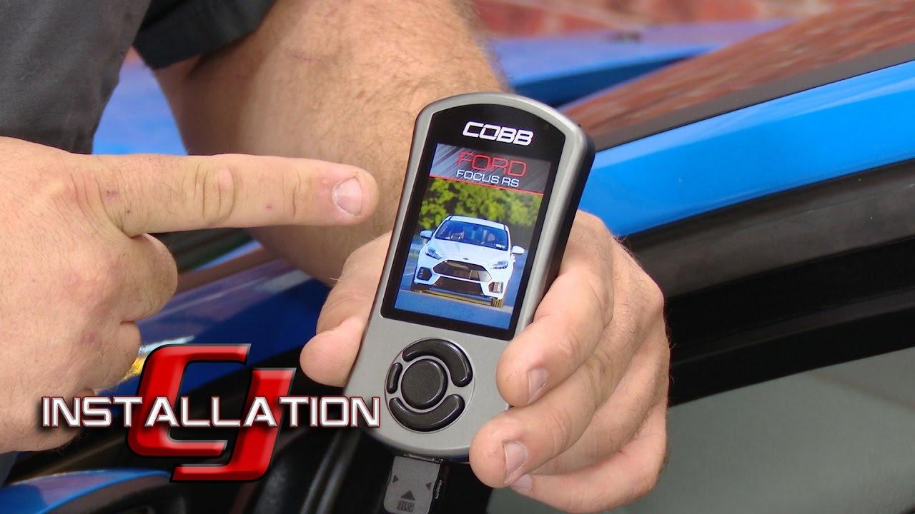 Focus RS COBB Accessport V3 2016-2018 Installation