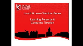 Learning Personal & Corporate Taxation - January 2016
