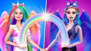 12 Miniature Unicorn Barbie DIYs for a Dollhouse