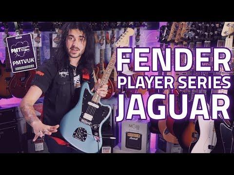 New 2018 Fender Player Series Jaguar Guitar - Replacing The Made In