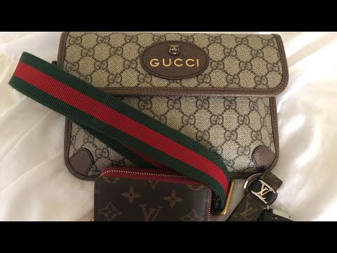 1b4e089277b3 UNBOXING l Gucci Night Courrier GG supreme messenger bag - Action ...