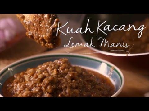 Resipi Mudah Cara Masak Kuah Kacang Lemak Manis