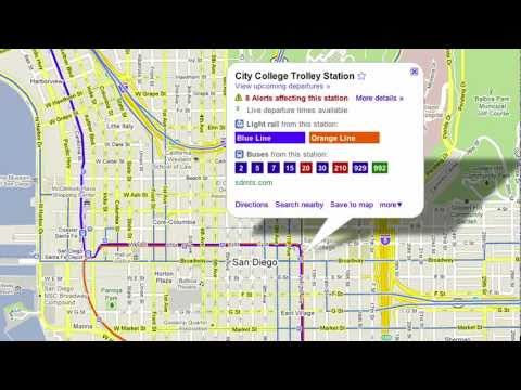 Live Transit Updates in Google Maps