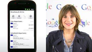 Live Transit Updates in Google Maps