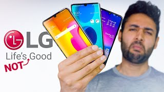 Why does nobody buy LG Smartphones?