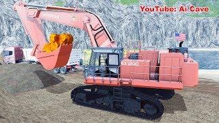 Gold Rush - Finest Hitachi EX1200-6 Excavator | Farming Simulator 2017 Mods