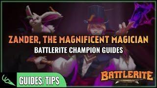 Zander Guide - Detailed Champion Guides | Battlerite