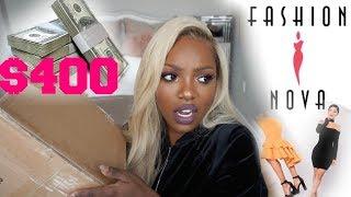 I SPENT $400 ON FASHION NOVA?!! IS IT WORTH IT??....CURVY GIRLS?
