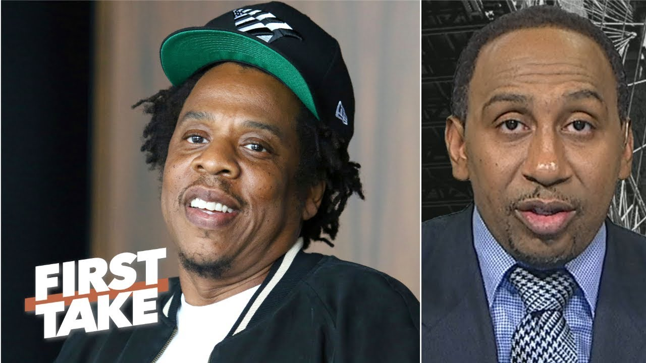 It's a beautiful thing for Jay-Z's Roc Nation to partner with the NFL – Stephen A. | First Take