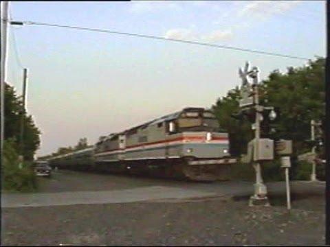 The Last Amtrak F40 to Run - Empire Service 6/1/2002