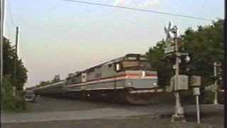 The Last Amtrak F40 to Run - Empire Service 6/1/2002