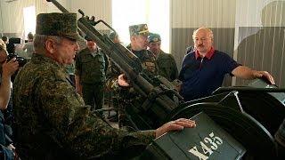Скачать Лукашенко посетил 103 ю отдельную гвардейскую мобильную бригаду сил спецопераций в Витебске