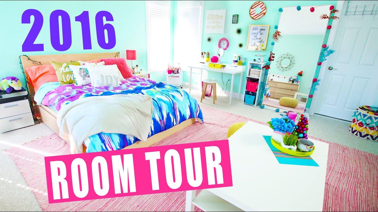 Room Tour 2016 Youtube