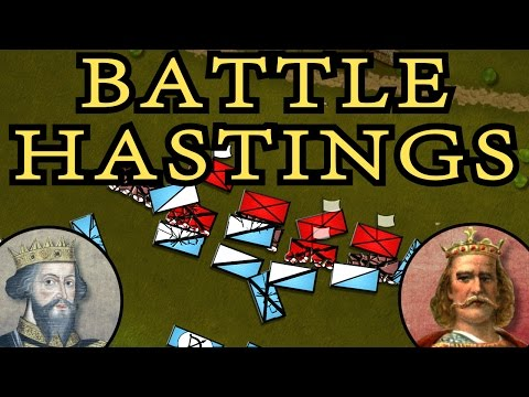The Battle Of Hastings 1066 AD