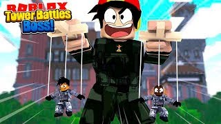 ROBLOX - ROPO IS THE BATTLE BOSS CALLING THE SHOTS!!!