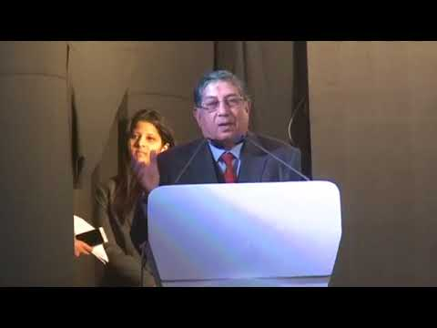 Mr. N Srinivasan ( VC & MD, The India Cements )  Speech at Business Conclave