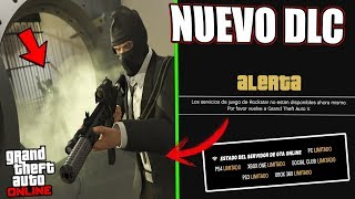 ROCKSTAR ha PROBADO el NUEVO DLC y por eso LOS SERVIDORES DE GTA ONLINE han CAÍDO!