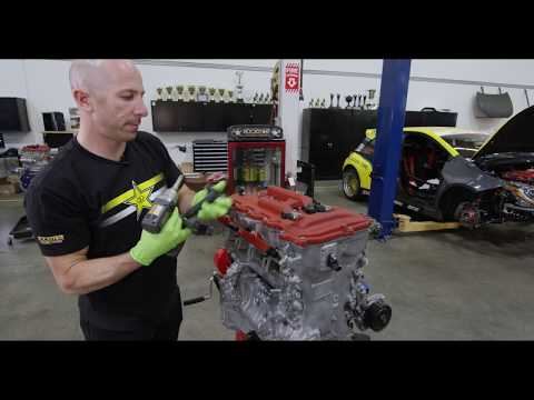 Analyzing an Engine During Disassembly with Papadakis Racing