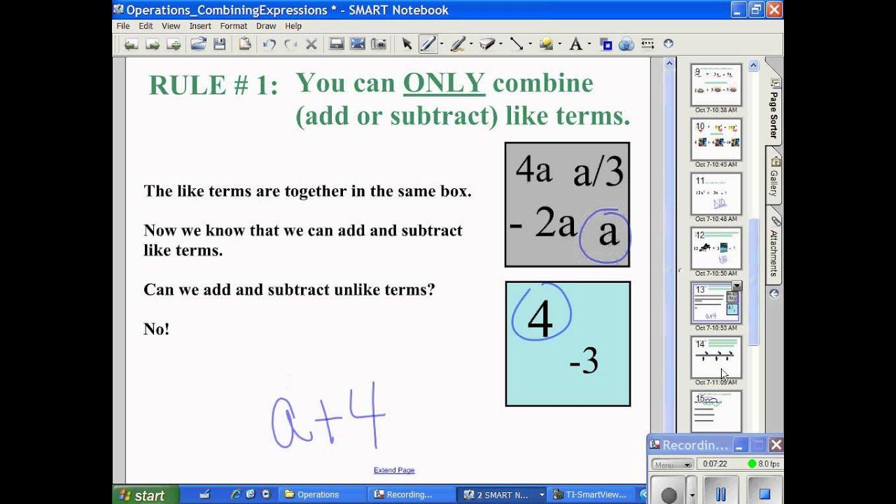 Standard 10 Part 1 Solving Quadratic Equations