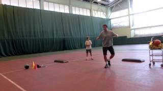 Footwork drills. Моралев Д.Ю. Москва семинар 2014. Упражнения для работы ног.