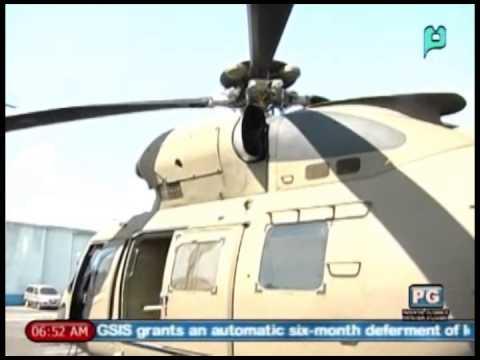 AgustaWestland AW 109 ng PHL Navy, isinabak sa
